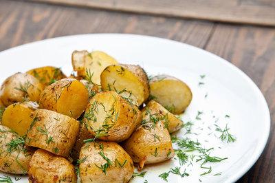 Мини картофель