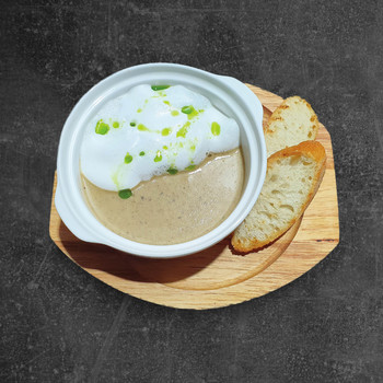 Крем суп капучино из грибов*
