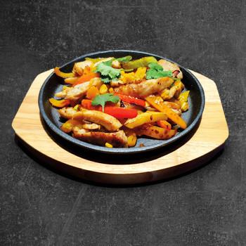 Курица с овощами в стиле Текс- Мекс