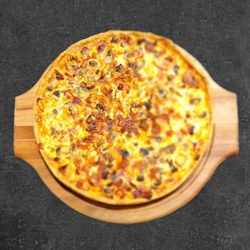 Пицца-пай с беконом и грибами 750 гр.