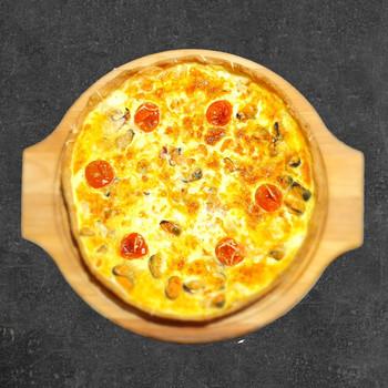 Пицца-пай с морепродуктами 750 гр.