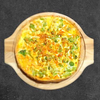 Пицца-пай с семгой и брокколи 800 гр.